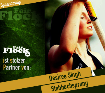 Partner - Stabhochspringerin Desiree Singh