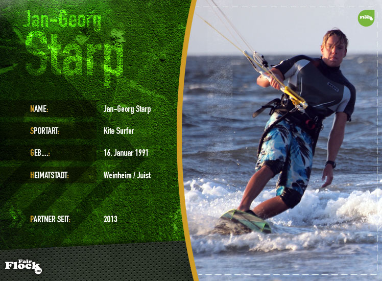 Partner - Kite Surfer Jan-Georg Starp